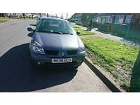06 reg clio 77 000 miles drives like new £595