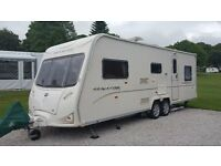 Bailey Senator Carolina Series 6 Caravan. 6 Berth, Twin Wheel. Includes Isabella awning!