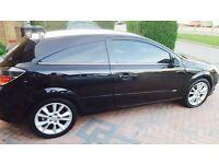 Vauxhall Astra 2.0T Turbo Design 3 Door Black Rare Half Leather Fsh vxr cdti sri BMW Audi