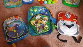 Paw Patrol,Finding Dory,backpacks