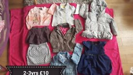 Girls clothes 2-3 yrs great condition