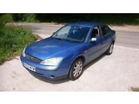 FORD MONDEO 1.8 LX 4dr (blue) 2002