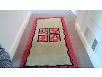 Red/green Rug 4'x2'