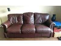 Leather sofa free
