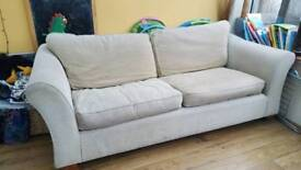M&S sofa beige good condition