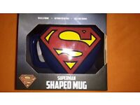 Superman Shaped Mug