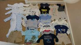 3-6 month summer baby clothes bundle