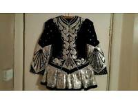 Irish dancing dress. Eileen plater.
