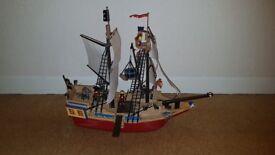 Playmobil - Large Pirate Ship - Ref 4290