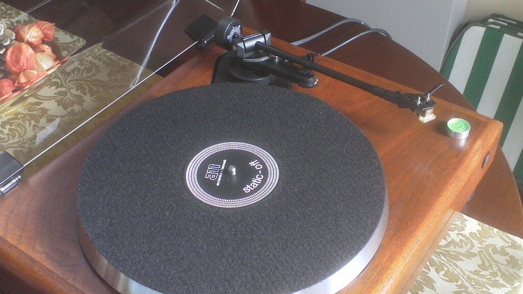 ACOUSTIC RESEARCH AR- 'THE LEGEND'-LINN LVX-SHURE M55- STUNNING  REBUILD-CLASSIC TURNTABLE! | in Needham Market, Suffolk | Gumtree