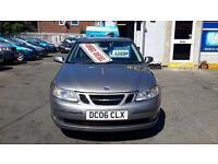 Saab 93 tdci low miles for age can come with a 3 months warranty