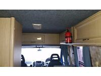 Citroen relay 1.9 turbo diesel, 2 Berth Camper-van, re-upholstered, new carpets & curtains