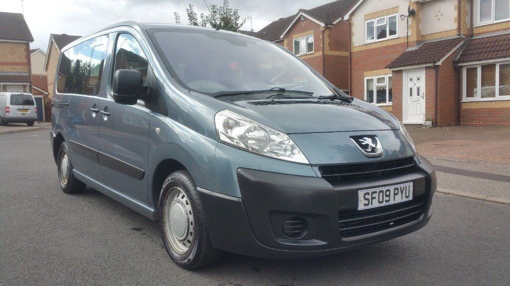 2009 09 peugeot expert tepee 1 6 hdi wheelchair access 6 seater citroen dispatch fiat scudo. Black Bedroom Furniture Sets. Home Design Ideas