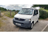 VW T5 Campervan - great condition, low mileage, ready for adventure