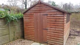 Garden shed - 10ft x 8ft