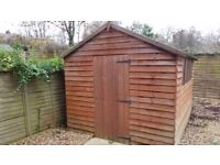 garden shed 10ft x 8ft