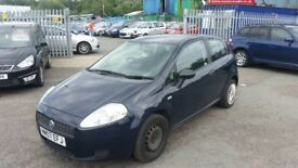 2007 (07 reg) Fiat Grande Punto 1.2 Active 3drHatchback FOR SALE £795 MOT TILL 05/07/2019