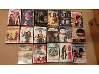 DVDS action comedy and chick flicks