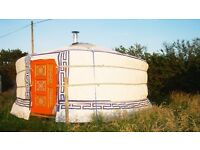 Yurt, Beautiful Handcrafted Mongolian Yurt 5m/16.5ft (Tipi, Bell Tent, Marquee) BRAND NEW