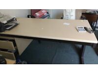 Metal and Formica top table