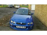 Mg zr 1.8 160vvc for sale or swap for something bigger
