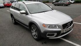 Volvo XC70 in excellent condition and loaded with extras; cream leather, DVD player, sunroof, etc