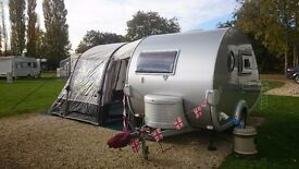 Tab,T b 320rs teardrop caravan 2008 plus new vango inflatable awning and extras
