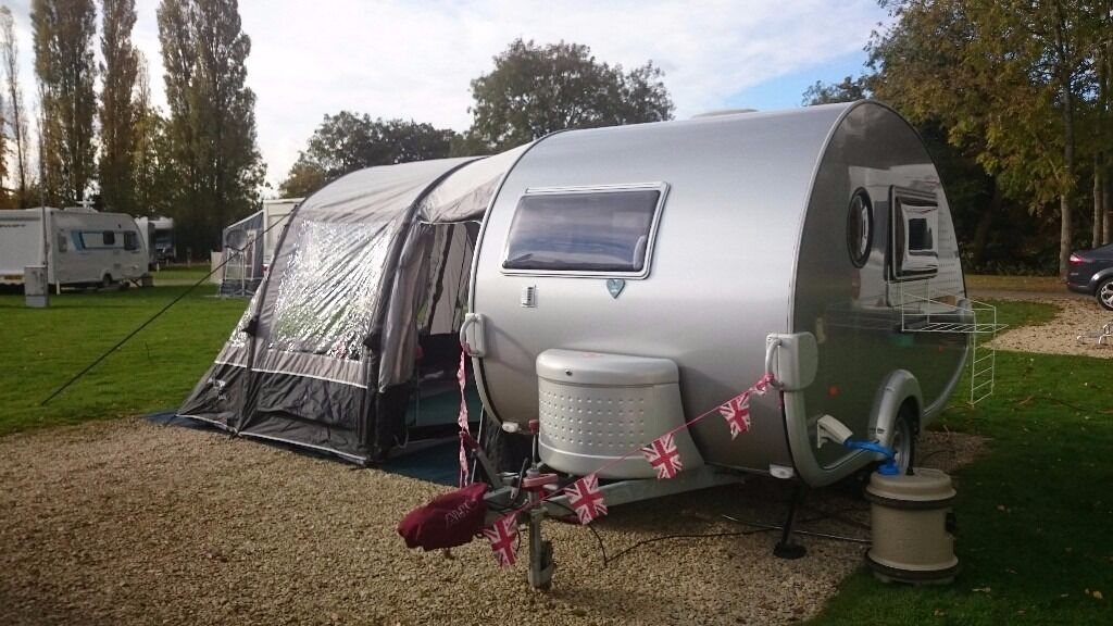 Tab T B 320rs Teardrop Caravan 2008 Plus New Vango