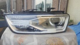 AUDI Q3 - LED - XENON HEADLIGHT - PASSENGER SIDE - COMPLETE - DIFFERENT TYPES *SEE PICTURES*