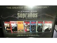 Sopranos full dvd boz set sealed brand new