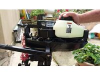 Mariner 3.3hp 2 stroke outboard **2hrs use**