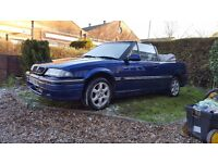 rover 216 cabriolet automatic