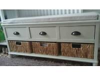 Dunelm bench storage seat