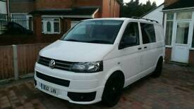 Vw transporter t5 2012 6 speed sportline bodykit, kombi seats
