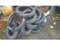 motorcycle and moped tyres various