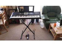 new used keyboards pianos for sale gumtree. Black Bedroom Furniture Sets. Home Design Ideas