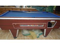 Used Pool Table in good condition with Cues and 1 set of Balls