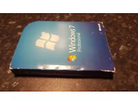 Windows 7 profesional 2x xd boxed with manual and key!can deliver or post!