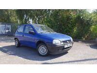 1997 Vauxhall Corsa 1.4 Merit Automatic LOW MILES LONG MOT Ideal First Car Clio 106 206 307 Saxo B