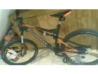 Brand New Boardman mountain bike team full suspension
