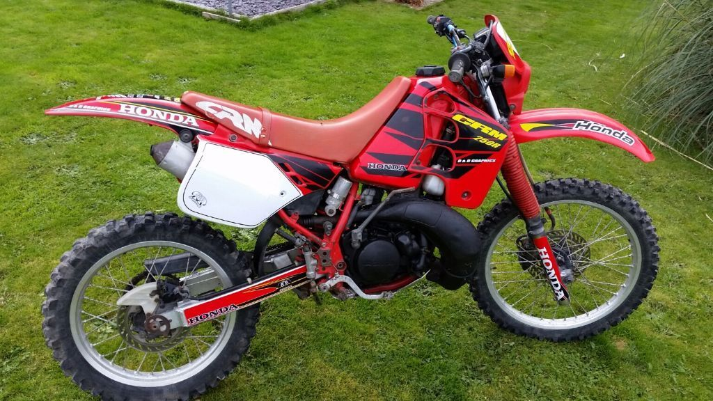 honda crm 250 mk1 2 stroke enduro motocross field bike in holywell flintshire gumtree. Black Bedroom Furniture Sets. Home Design Ideas