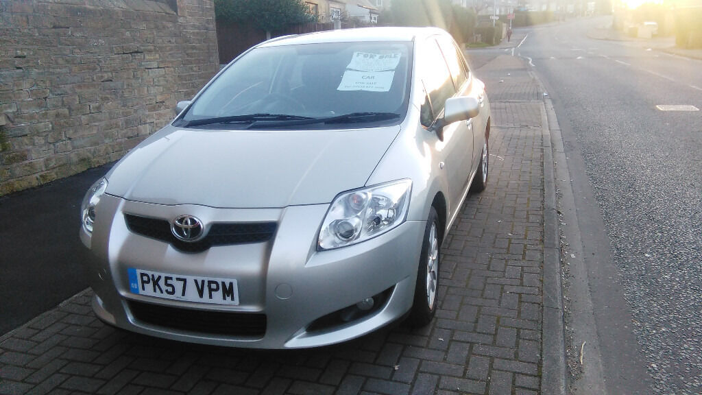 Toyota Auris 1 6 Vvi Tr Petrol Excellent Condition Inside And Out