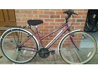 Ladies raleigh hybrid bike. Fully serviced at kesgrave mobile cycle repairs.