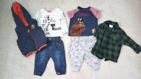 Baby boys clothes 0-3 m. £20 ono