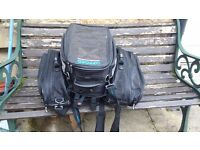 Oxford lifetime luggage tank bag and Buffalo panniers as new