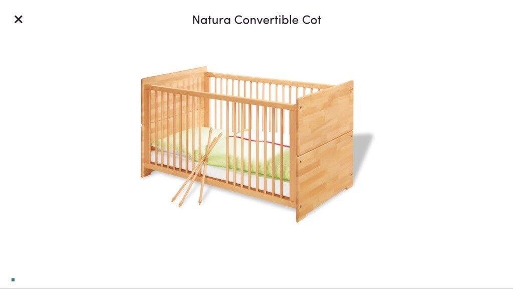 Pinolino Natura Convertible Cot