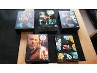 """24 The Series"" Box Sets Series 2-6"