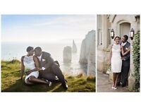 Passionate and friendly female wedding photographer