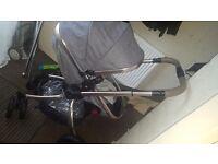 Mothercare orb pram and stroller
