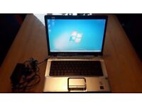 "LAPTOP NOTEBOOK HP REFURBISHED, 15.4"" SCREEN, 2GB RAM,WIFI,DVDRW. WINDOWS 7/OFFICE 2010,CASE,CHARGER"